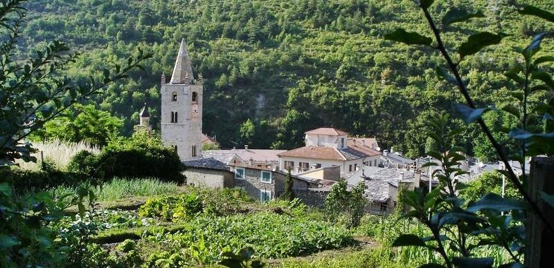 Situation G U00e9ographique Du Village De La Brigue