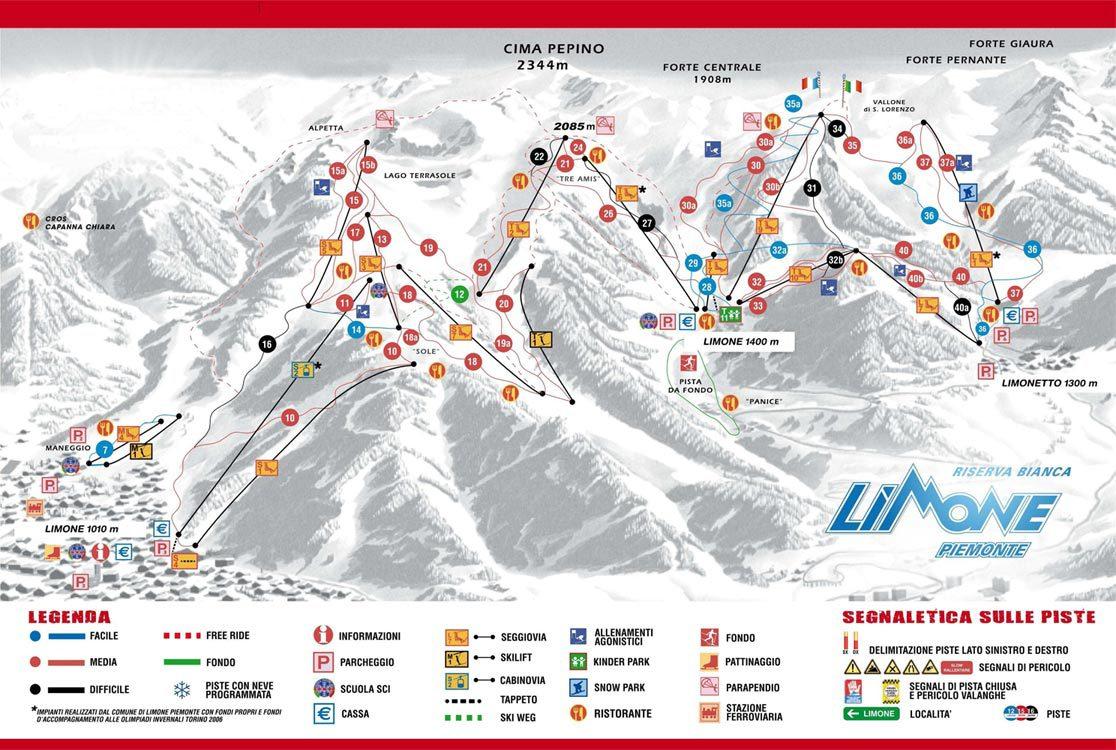 Ski Limone Piemonte
